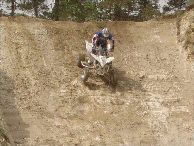 vole de moto cross